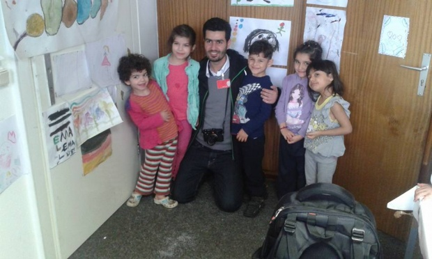Flüchtlingskinder in der Betreuung